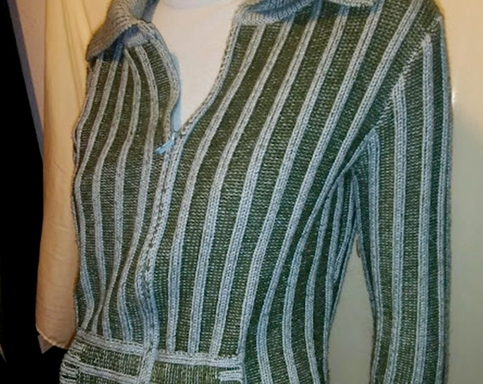 Vintage Australian Ribbed Sweater