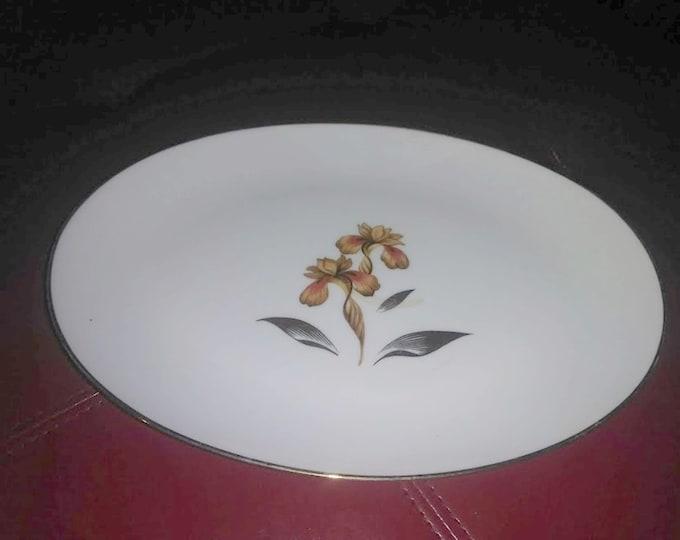 1920's Golden Iris by Rossetti Platter