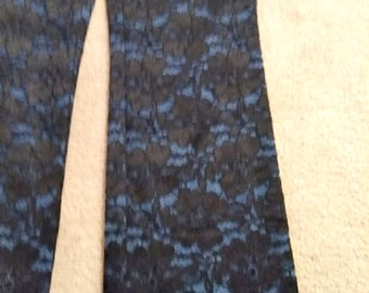 RARE Vintage Black Lace Jeans