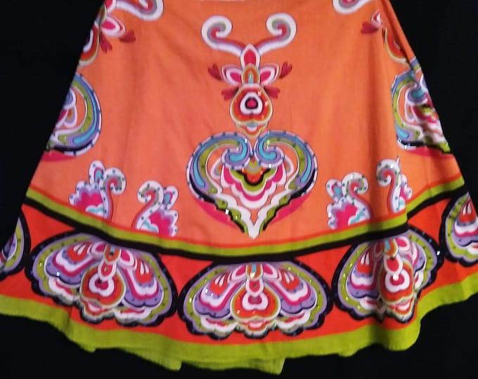 Exotic Cotton Skirt XL