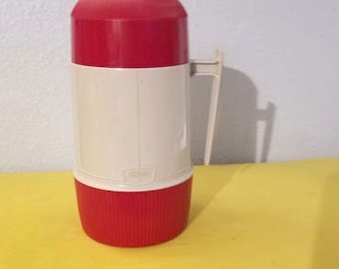 Original 60's Vacuum Seal Thermos #6202 King Seeley