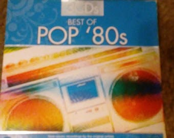 Vintage Pop 80's Triple Set CD's