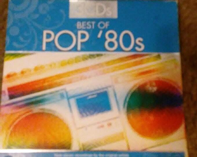 Vintage Pop 80's Triple Set CD's