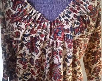 Vintage Lucky Brand Soft Cotton and Modal Top