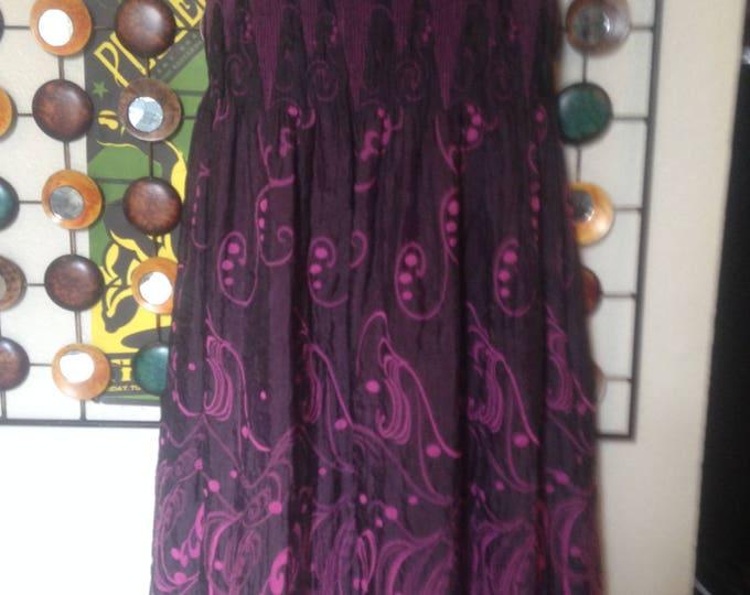 Purple Swirl Has 2 Identities... Skirt or Dress