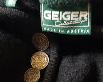 Made in Austria GEIGER COLLECTION Boiled Wool Coat
