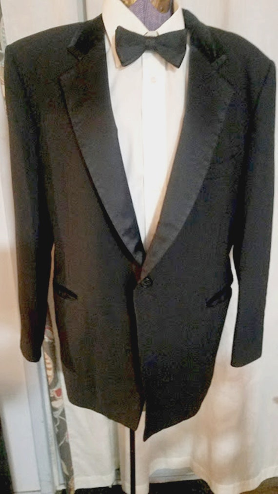 Vintage Gray Jacket Coat Tropical Formal 40R 41R After Six 70s Wedding Tux  60s 90s 80s  Morning Coat Suit