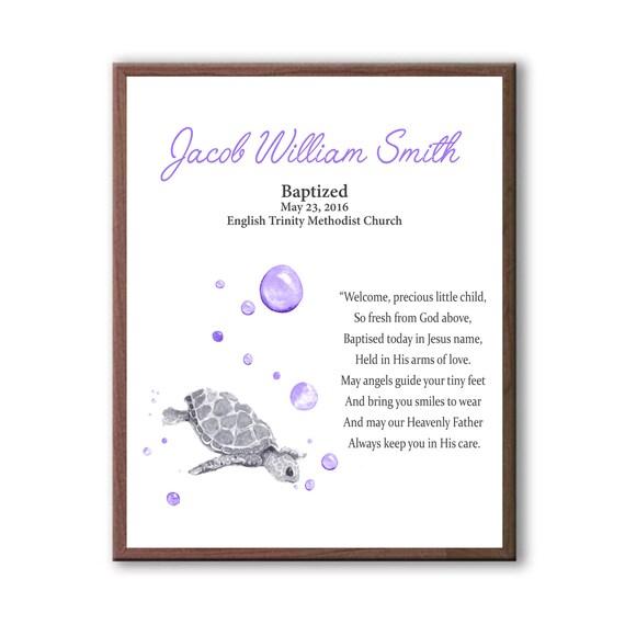 Dedication Art Gift, Animal Art For Baptism, Baptism Boy Gift, Christening Art Gift For Boys