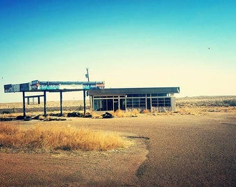 Old route 66 gas station