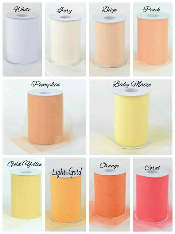 Custom Color Chart Colorful Tutu Products Tulle Creations Etsy