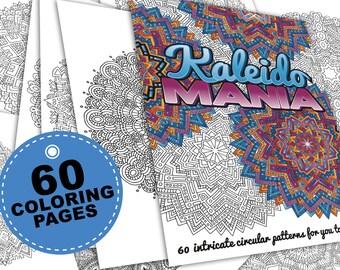 60 Mandala Coloring Pages