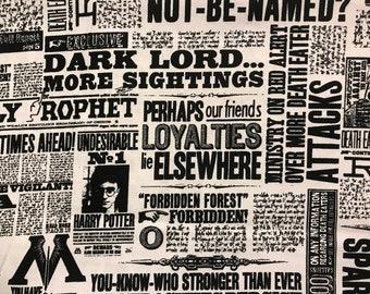 Harry Potter Fabric Etsy
