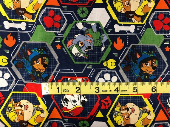 Nick Jr. Paw Patrol Fabric featuring Marshall & many more   Etsy