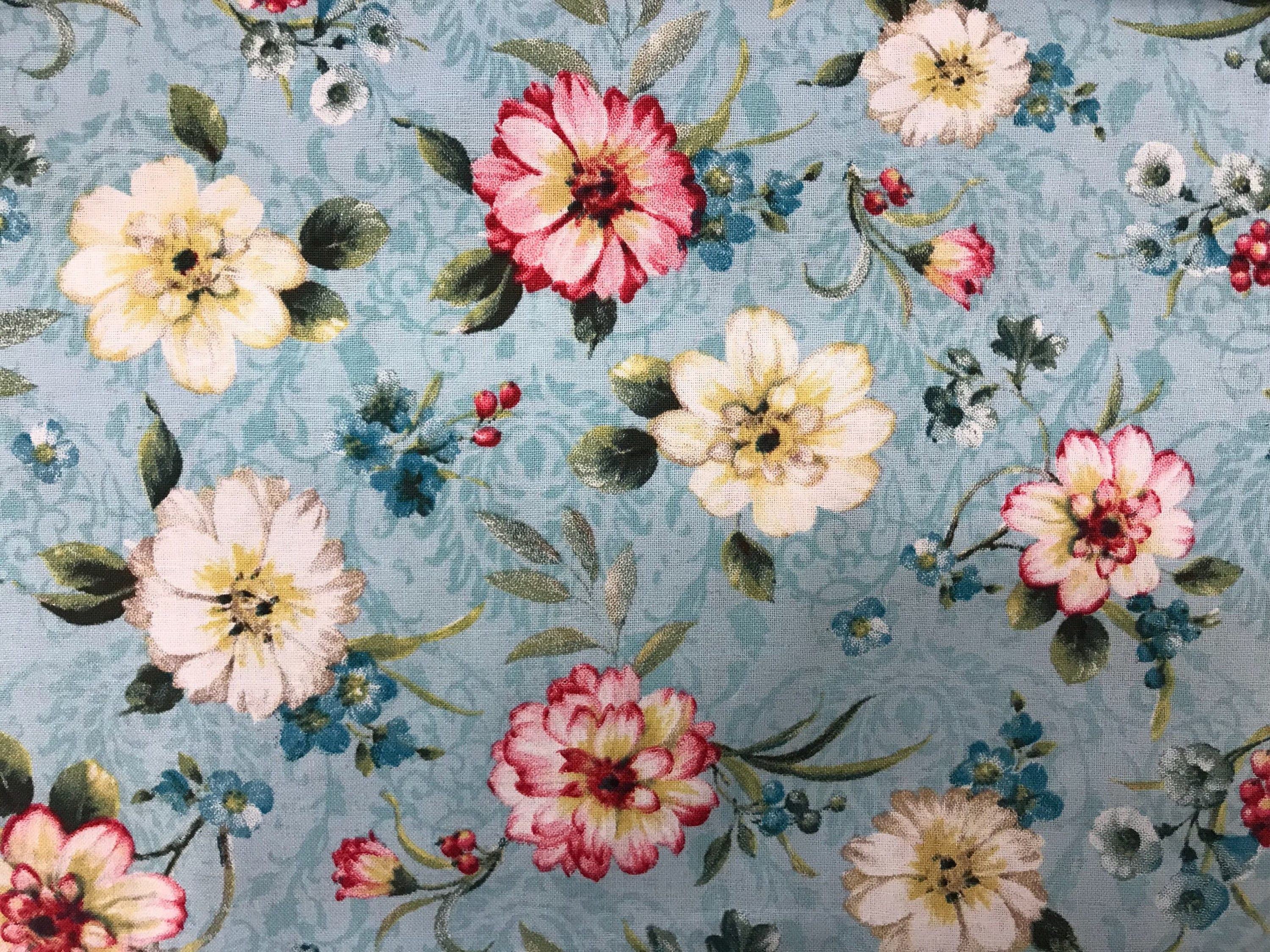 Fabric Flower Pattern Cool Decoration