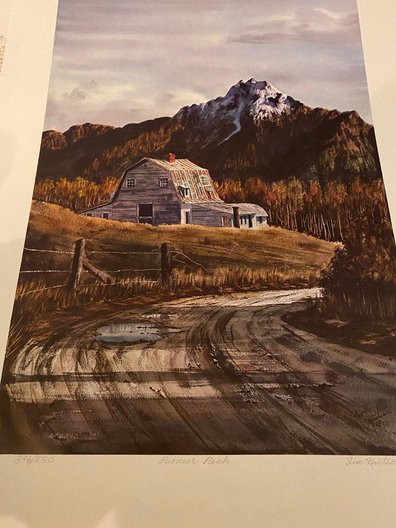 James P Jim Knutson Kells Hand signed Pioneer Peak