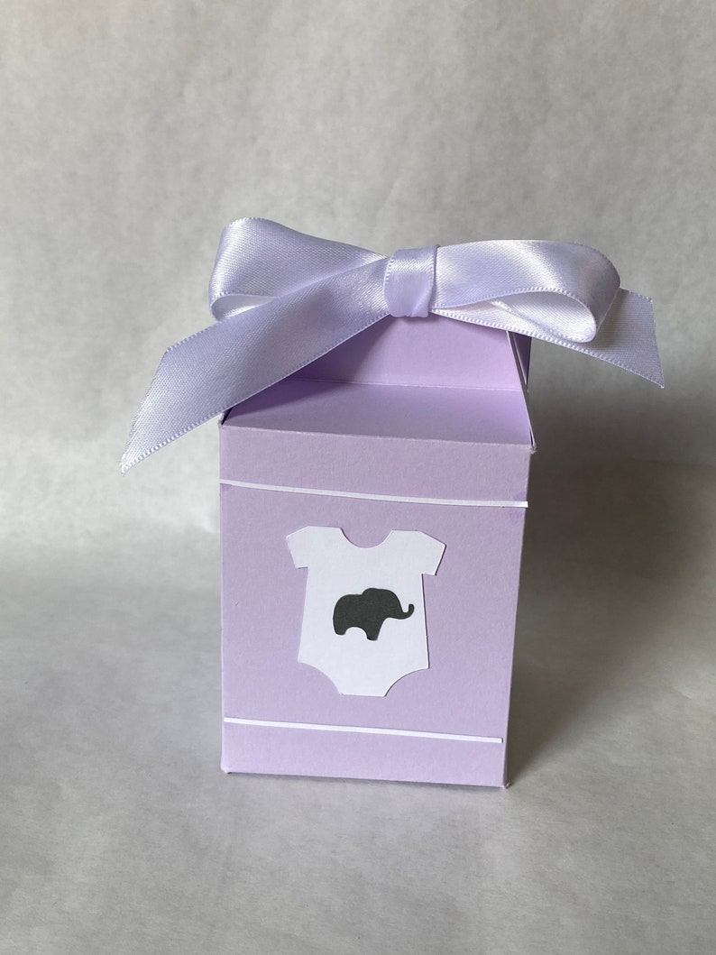 Baby Shower favor box