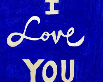 I love you to the moon and back acrylic wall art canvas.