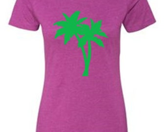 4c51d7a84 Palm Tree T-Shirt, Palm Tree Shirt, Summertime T-Shirts