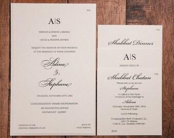 wedding invitation invitation clean wedding invitations etsy