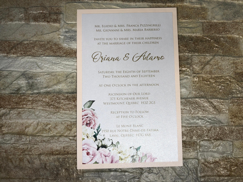 Marble Invitations, Marble Wedding Invitations, Marble Wedding ...