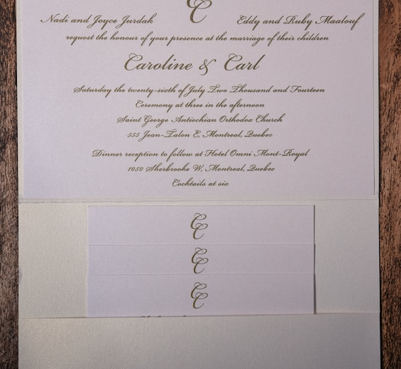 Chanel Invitation Chanel Invitations Chanel Wedding Etsy