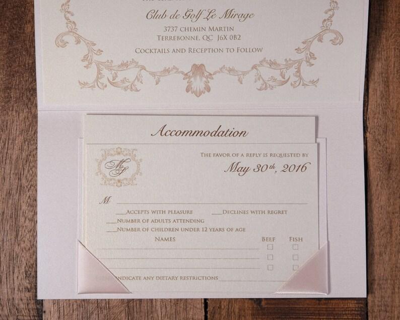 Fairytale Wedding Invitations Fairytale Wedding Invitation Etsy