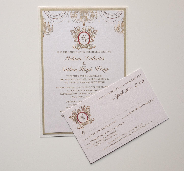Greek Wedding Invitation, Greek Wedding Invitations, Greek ...