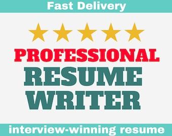 Resume writer | Etsy