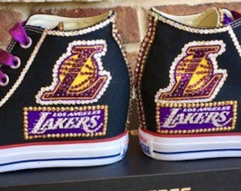 e07e0e78e73f5e LA Lakers hidden wedge converse-Gorgeous!