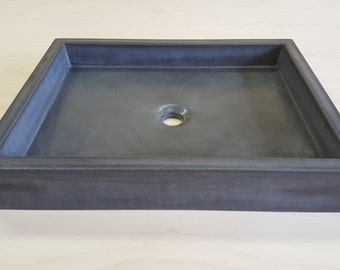 Shallow Vessel Sink (The Flat)
