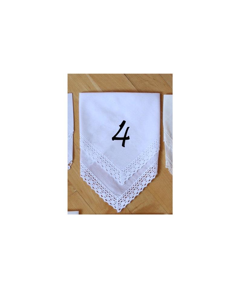 Wedding Handkerchief Mother in-law -LS11PadCop Mom Gift 129 Mother of the Bride Gift PRINTED CUSTOMIZED Wedding Hankies