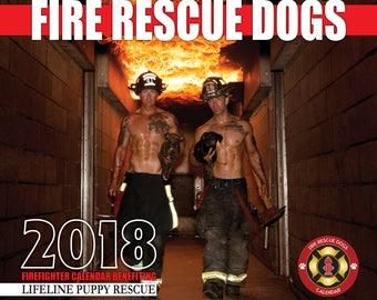 2018 Fire Rescue Dogs Calendar