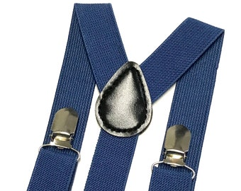 Blue Suspenders, Men's Suspenders, Boys Blue Suspenders, Toddler Suspenders, Blue Wedding, Ring Bearer, Cake Smash Outfit