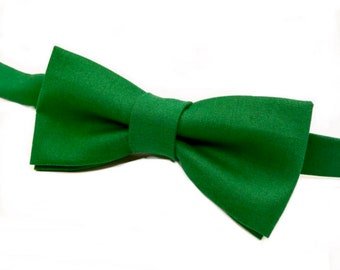 fab97bf0bec1 Emerald Green Bow tie, Green Bow tie, Green Christmas Bow tie, Men's Green  Bow tie, Green Bowtie, Kid's Green Bow tie, Kelly Green Bow tie