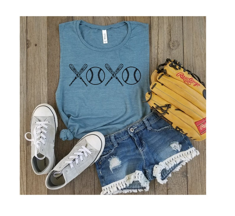 8a0fa05a672 Baseball XOXO Shirts Summer Nights Ballpark Lights Pitch