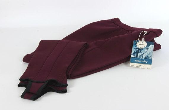 Vintage White Stag 1950's / 60's Ski Pants, Dead S