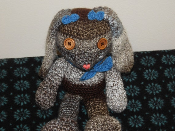 Holland Lop Rabbit pattern by Claire Garland | Knitting patterns ... | 428x570