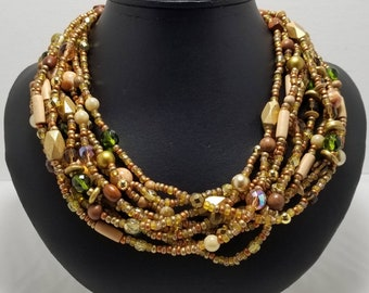 JOAN RIVERS 9 Strand Necklace