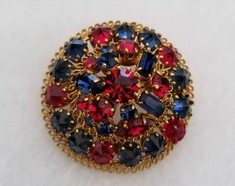 Made In Austria Blue & Red Pin