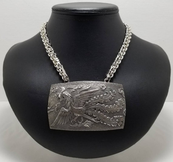 NAPIER Rooster Necklace