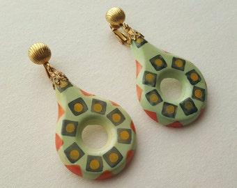 Tribal Pattern Earrings