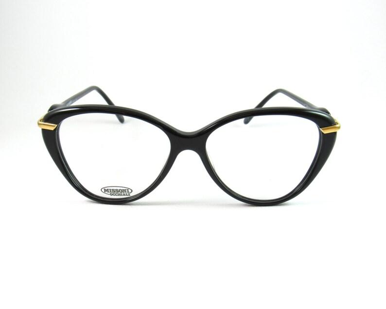 af33f0b0859fb6 Vintage Glasses Frames Missoni M197 80s Cat Eye Glasses