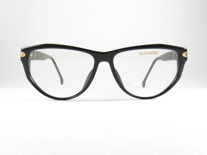 5cd912894f Vintage Eyeglasses Black Glasses Frames Jil Sander Retro