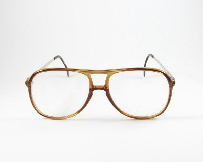 489476f0a4a Vintage Eyewear Metal Optics Hip Hop Glasses 70s Deadstock