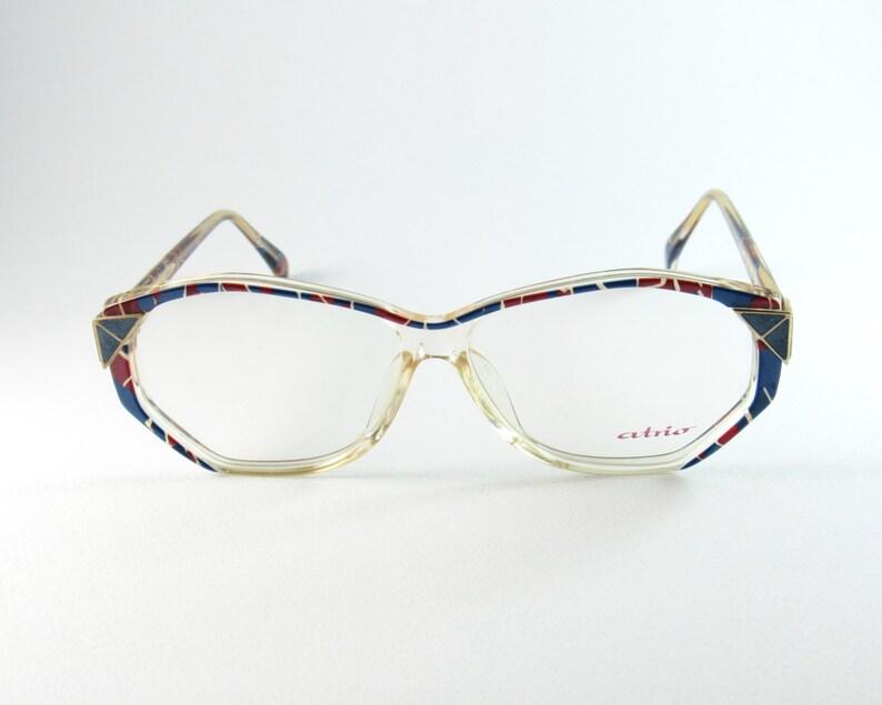 Seeing What Happened To Atrios I Guess >> Vintage Eyeglasses Atrio 298 Square Eyeglasses Womens Etsy