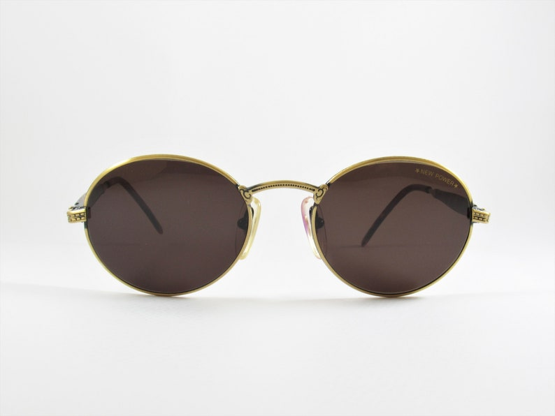 5f34c09049d3d4 Vintage zonnebrillen ronde zonnebril Nazareno Corsini