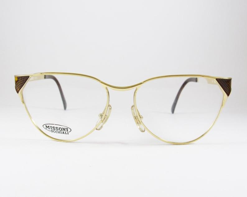 00829ec78095fe Vintage Eyeglasses Missoni Cat Eye Glasses Oversized