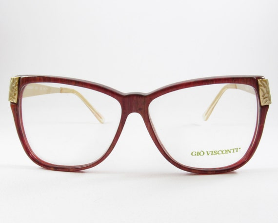 5f88d2ede3 Vintage Glasses Oversized Frames 90s Gio Visconti Mother