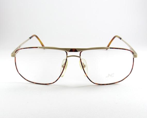 e9cf14ff3b0e91 Nazareno Corsini Mod 1754 carré Vintage Aviator lunettes   Etsy