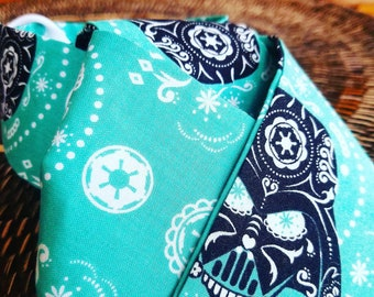 Teal Star Wars - Equestrian Stock Tie